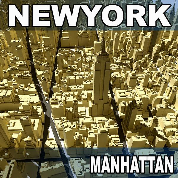 new york manhattan 3d 3ds