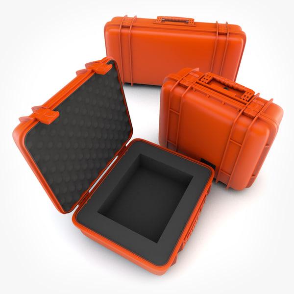 3d model pelican cases