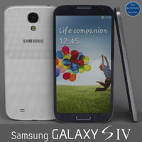 Samsung Galaxy S4 Blue & White