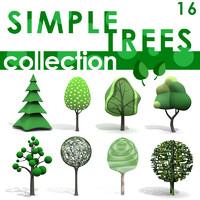 3d simple tree model
