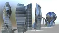 building modern sci-fi 3d 3ds