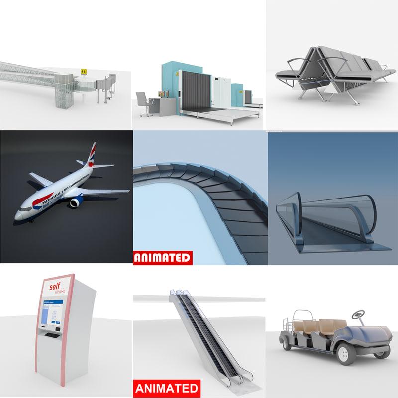 airport boeing bridge x