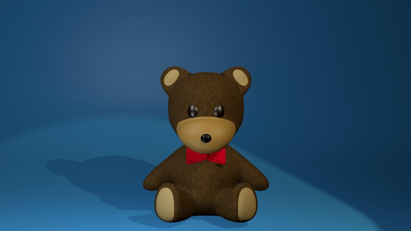 3dsmax bear