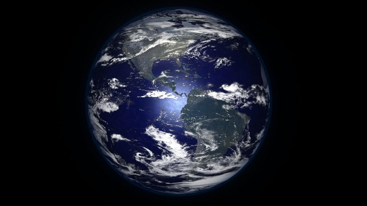 3d model of earth