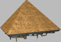 Giza Pyramid Spaceship