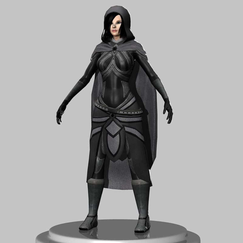 female thief 3d ma