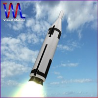 3d 3ds navy ballistic missile polaris