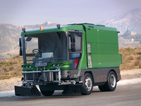 Ravo 560 Brush Street Cleaning Truck