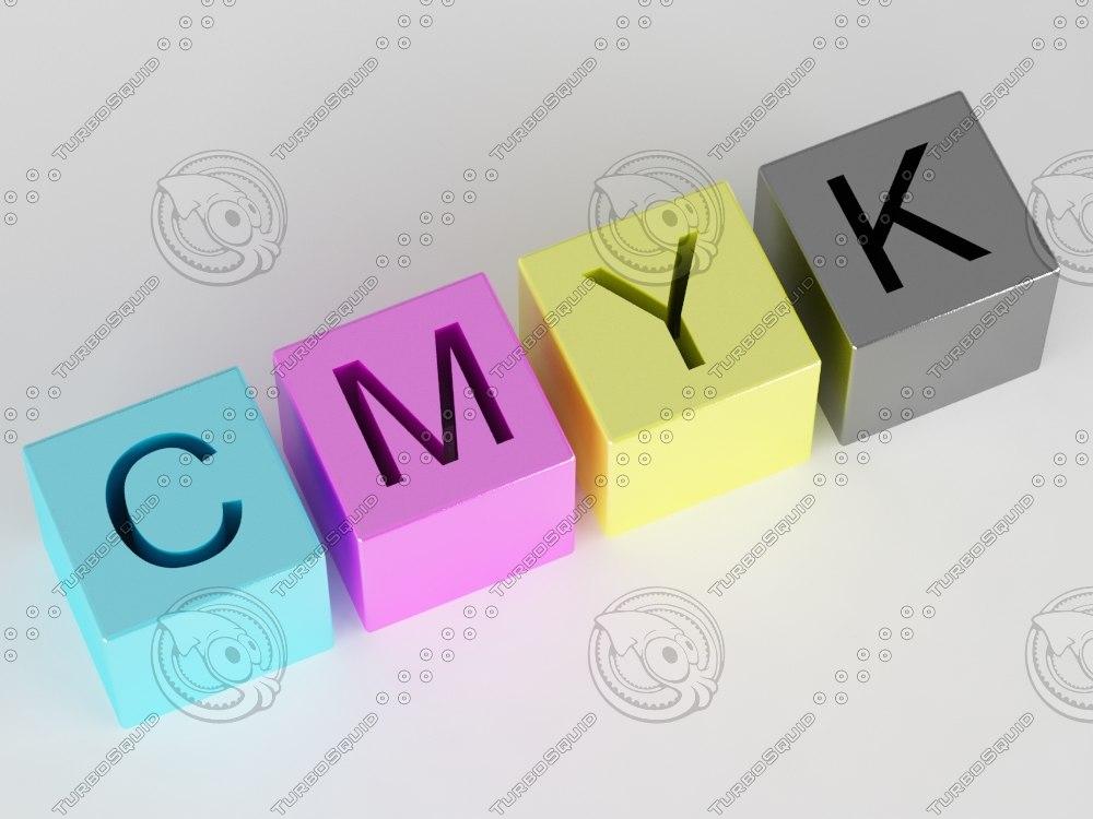 cmyk color space 3d max