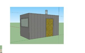 3ds max small shack