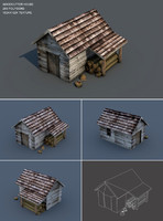 Low Poly Woodcutter House
