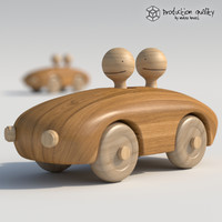 Wooden Toy Couple