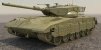 3d merkava 2014 tank ii