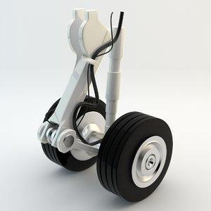 3dsmax gear landing