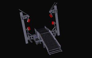 3d model stargate support