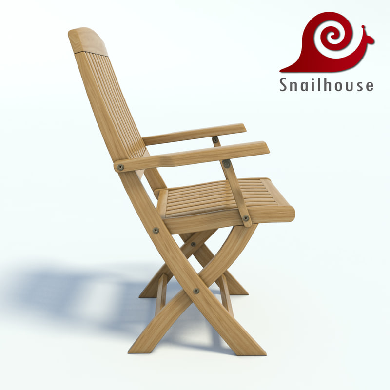 gardens chair 3d model