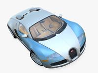 3d model bugatti veyron
