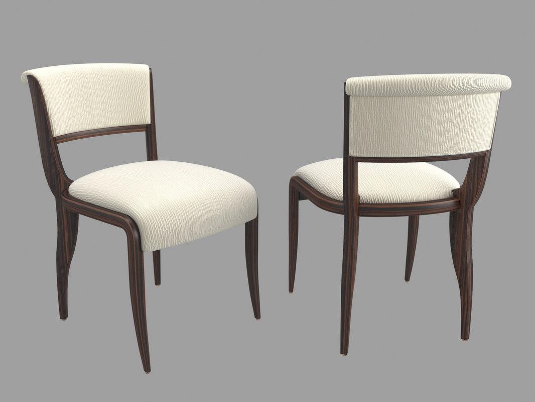 french chair 3d model