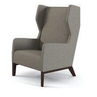 Holly Hunt Darder Wingback Chair