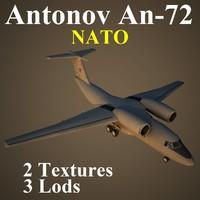 3d model antonov nat