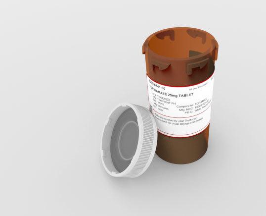medicine container pharmacies 3d model