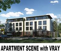 apartment scene max