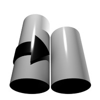 3ds max arrow cylinders