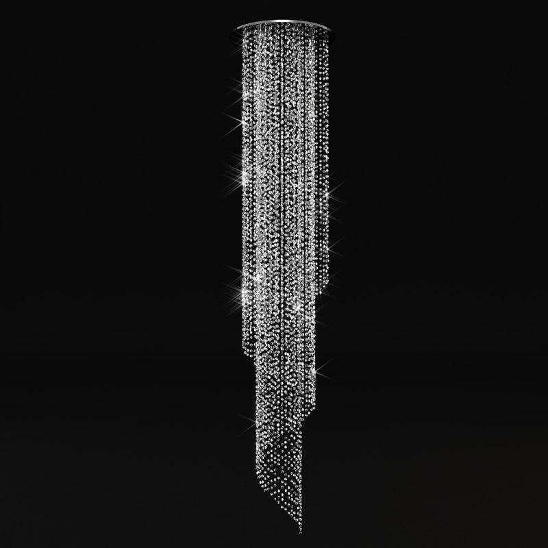 crystal chandelier 3d model