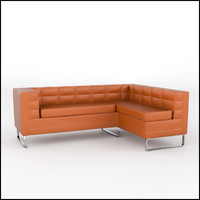 Tufted Corner Sofa