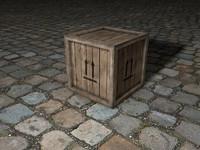 free crate 3d model