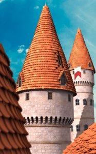 cartoon castle tower 3d ma