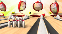 cartoon bowling 3d obj
