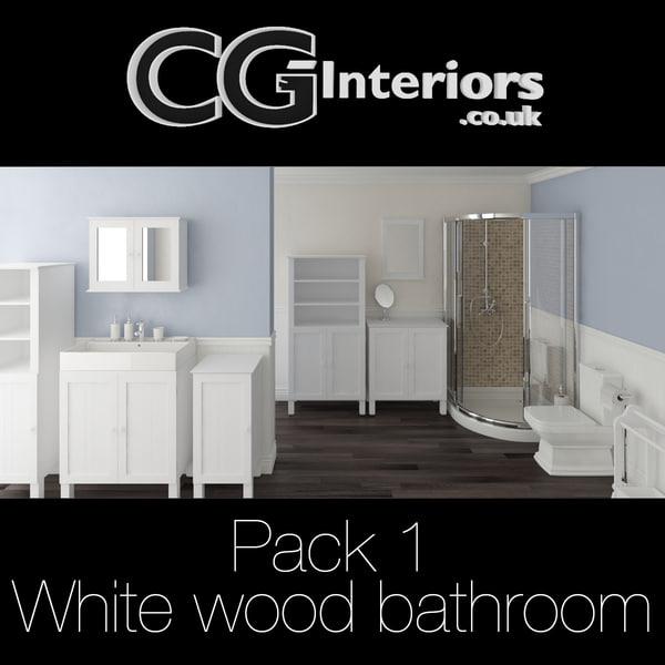 max 1 - white wood