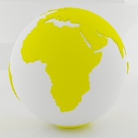 Yellow World Sphere