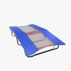 trampoline 3d obj
