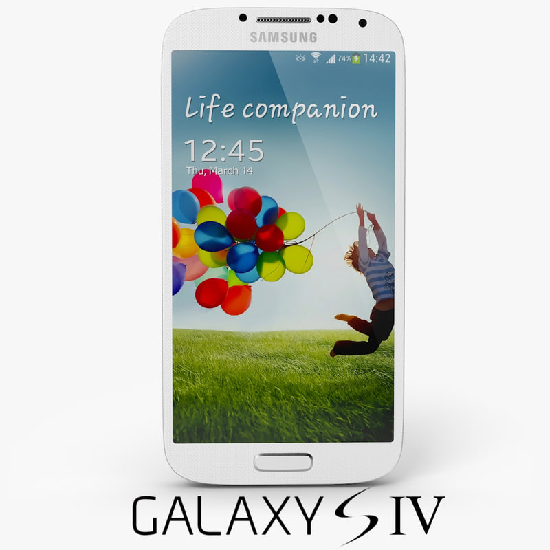 3d model samsung galaxy s 4