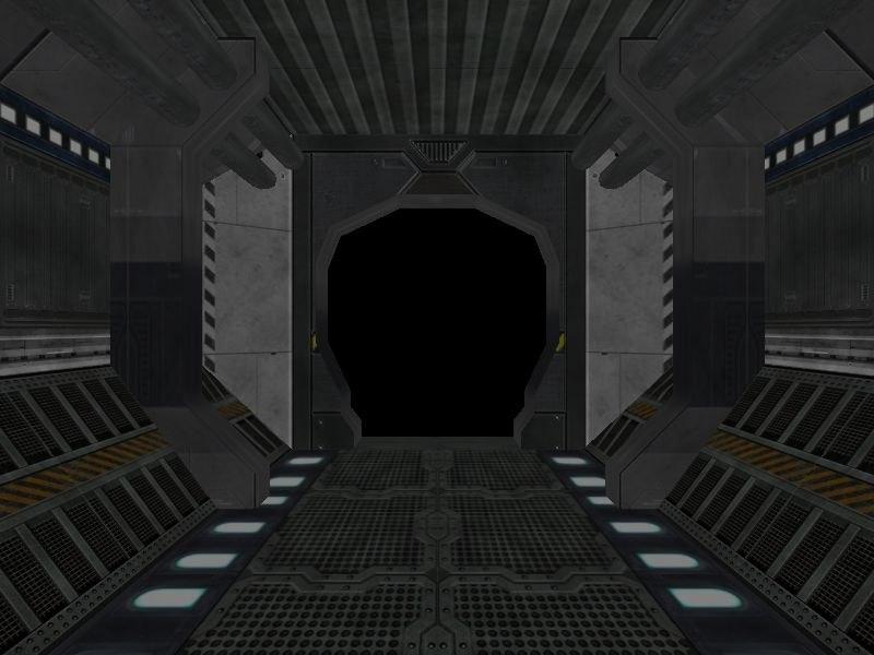 science fiction corridor 3d x