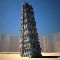3d model leadenhall building skyscraper
