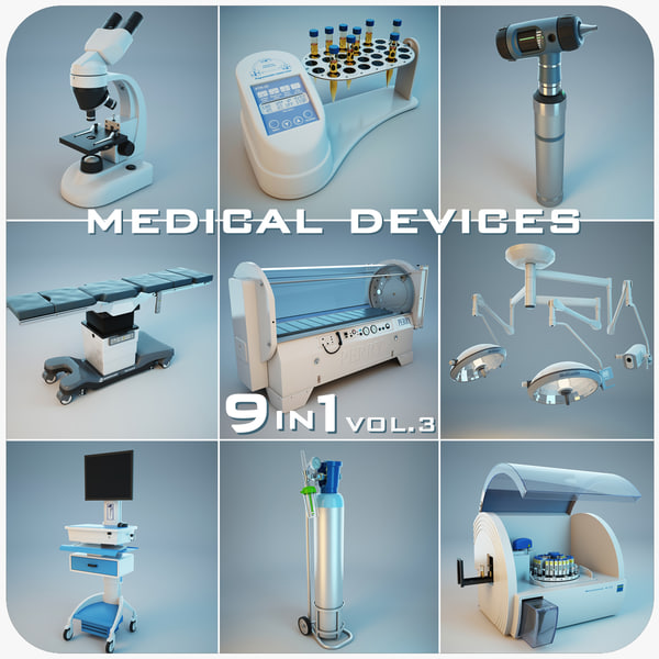 medical devices 9 1 3d model