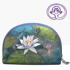 3d model handmade cosmetics bag