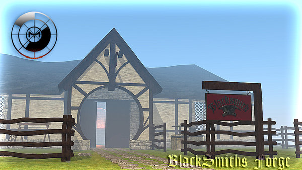 3ds max blacksmith forge