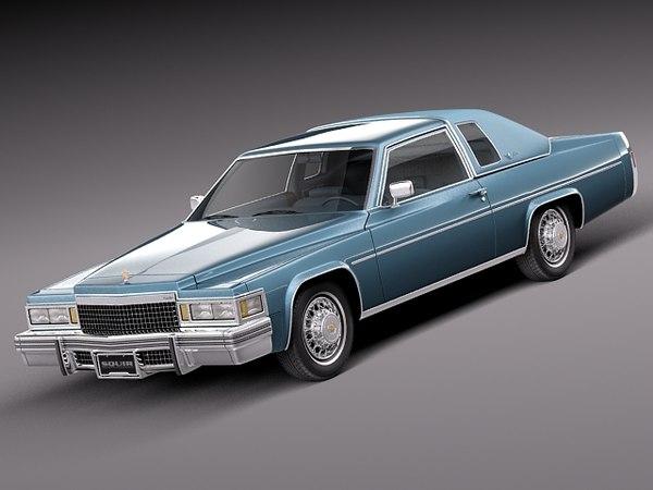 3d classic antique luxury 1977 model