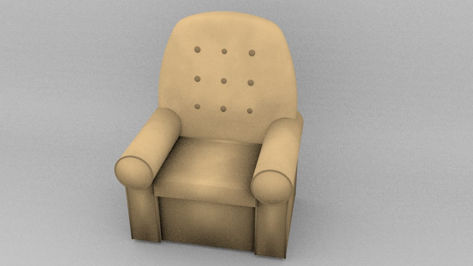 3ds max grandmothers chairs