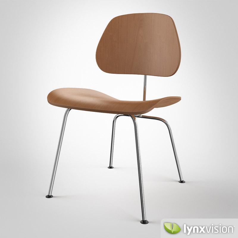 3d dcm chair charles eames