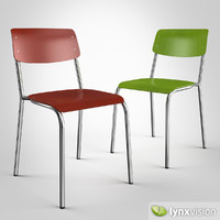 3d model hassenpflug chair 1255