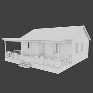 3d home exterior interior model