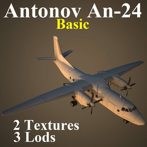 3ds max antonov basic