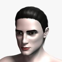 david hair 3d model