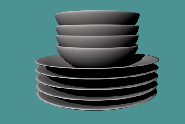 plates bowls ma