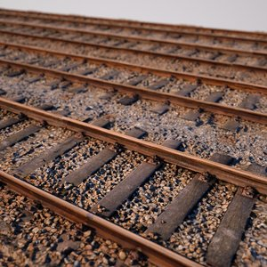 railroad tiling 3d obj